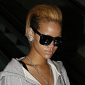 Rihanna shows off quirky new hairstyle