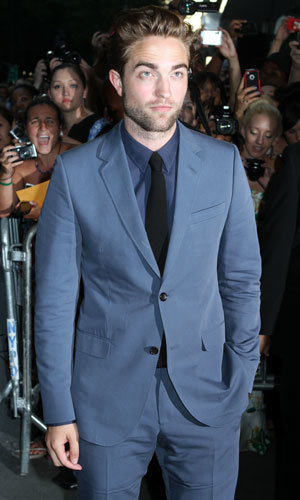 Robert Pattinson out at the Cosmopolis premiere!
