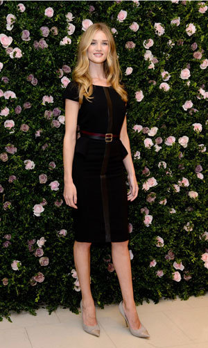 Rosie Huntington-Whiteley wows in a Marks & Spencer dress at her lingerie launch