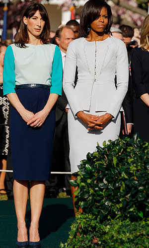 Samantha Cameron takes the US by style storm!