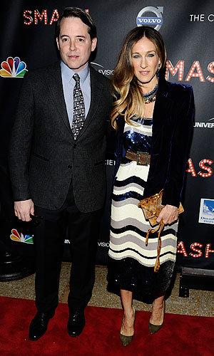 Sarah Jessica Parker, Abigail Breslin and Uma Thurman party for Smash series launch!