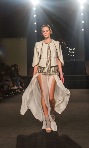 London Fashion Week Day 2: Antipodium, Issa, House of Holland and Rihanna for River Island