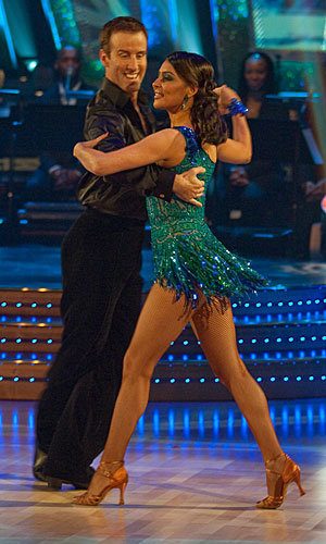 Stars sizzle on Strictly Come Dancing