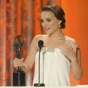 Natalie Portman and Colin Firth named best actors at Screen Actors Guild Awards