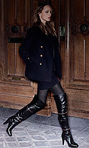 Louis Vuitton releases Seduction boots for Pre Fall 2009