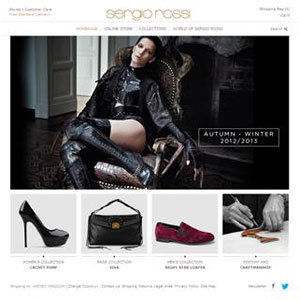 Sergio Rossi launches online store!