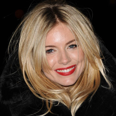 Get Sienna Miller's Perfect Red Lips!