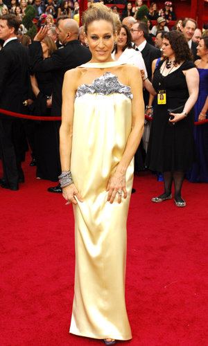 STYLE CRUSH: Sarah Jessica Parker shows off temporary tattoos at the Oscars