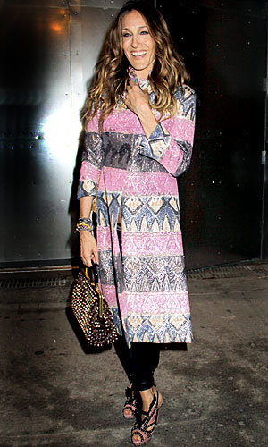 Sarah Jessica Parker steals the limelight at New York Fashion Week