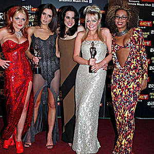 The official return of girl power: Spice Girls are up for a Brit!