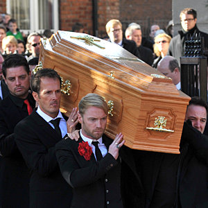Tearful funeral farewell for Boyzone's Stephen Gately