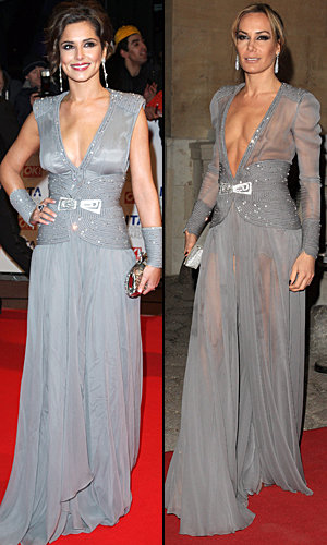 Style snap! Cheryl Cole and Tara Palmer-Tomkinson in Stéphane Rolland