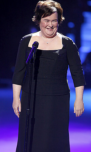 Susan Boyle tops the US album charts!