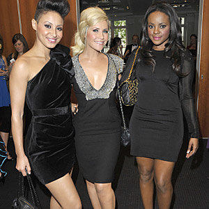 The Sugababes check out planet fashion