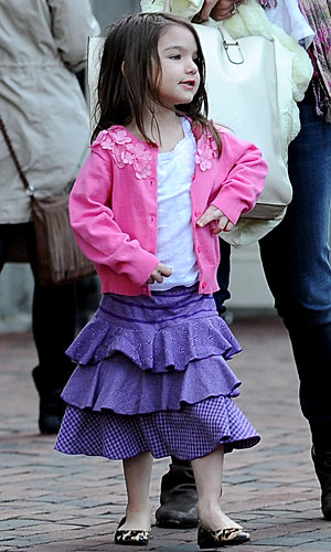 Is Suri Cruise the most stylish tot ever?