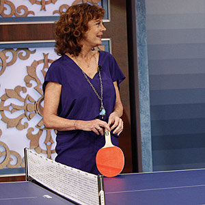 Fancy playing ping-pong with Susan Sarandon?