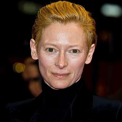 Tilda Swinton is the new face of Pringle