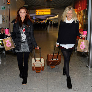 Mollie King and The Saturdays fly into Atlanta