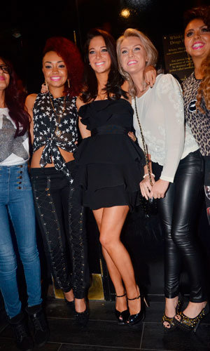 X Factor contestants celebrate night out with Tulisa after after Sunday's shock show!