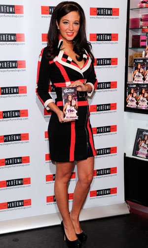 CELEB PERFUME: X Factor judge Tulisa Contostavlos launches her fragrance TFB - The Female Boss