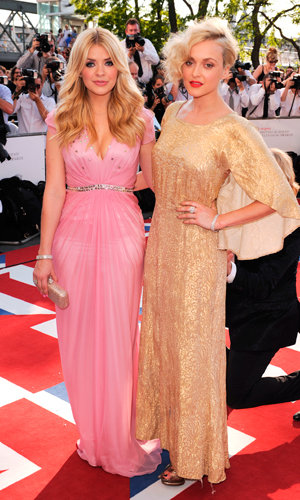 British stars turn out for the TV BAFTAs 2012!