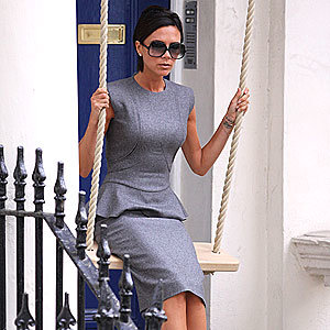 Victoria Beckham is flying high