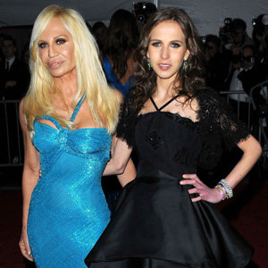 Donatella Versace and daughter Allegra Versace go on a beauty spree!