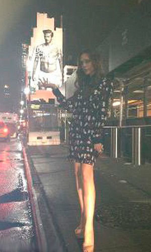 Victoria Beckham gets cheeky with David's picture…