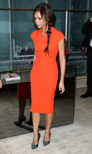 Victoria Beckham steps out during New York fashion week!