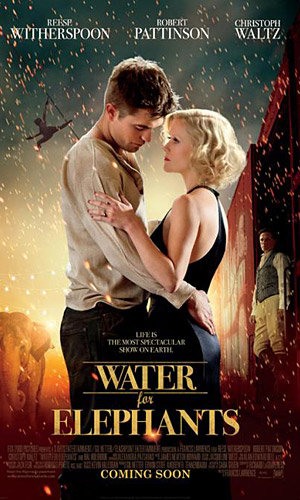 NEW PIC: Robert Pattinson and Reese Witherspoon in Water For Elephants