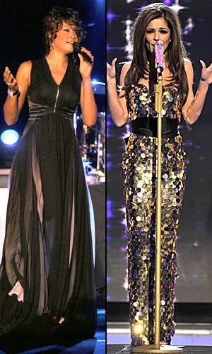 Whitney and Cheryl on X Factor in just two days!