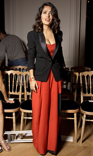 SEE PICS The star-studded YSL front row