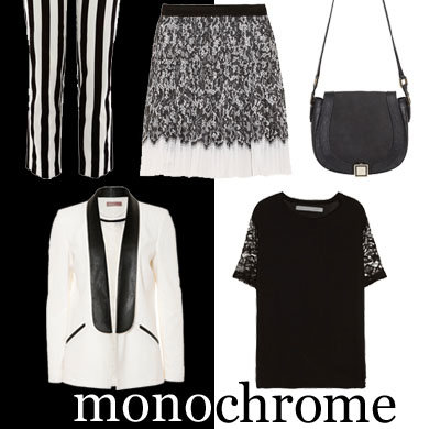 SHOP SS13 Trends: Monochrome