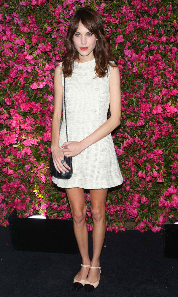 Alexa Chung shines in Chanel at Tribeca Film Festival