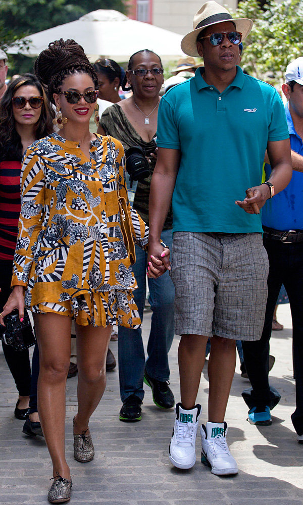 Beyonce and Jay-Z celebrate anniversary with holiday in Havana