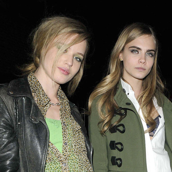 Georgia May Jagger opens up about Cara Delevingne's fame