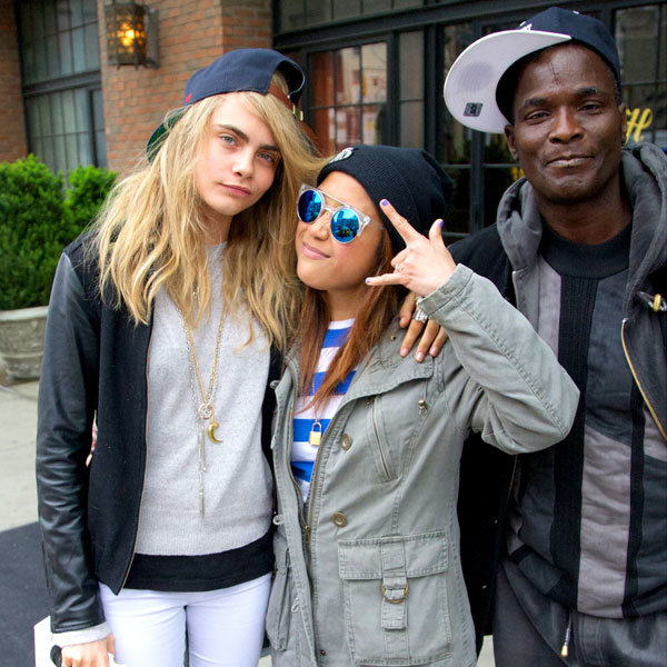 Cara Delevingne causes a fan frenzy in New York