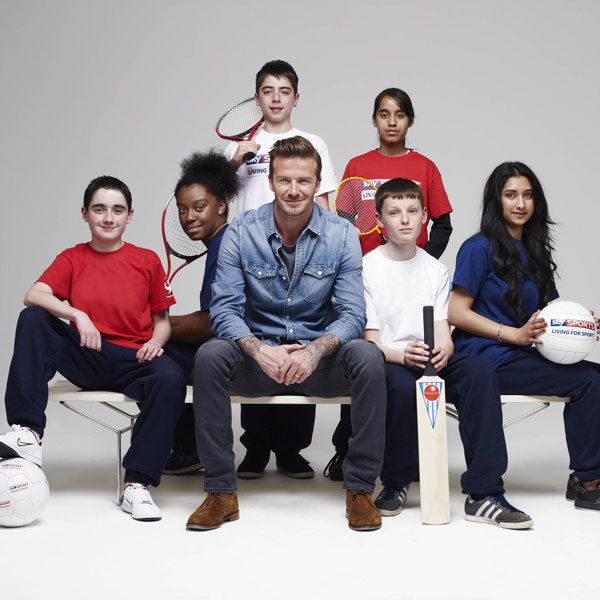 David Beckham named Ambassador for Sky Sports Living