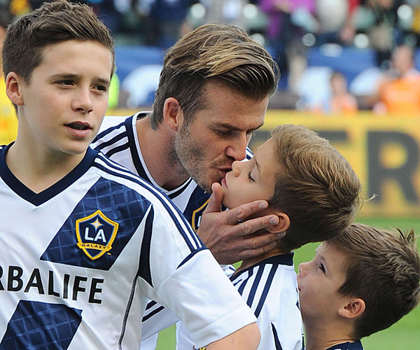 David Beckham says he wants his children to lead a normal life
