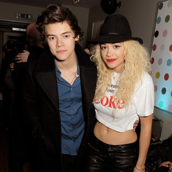 Harry Styles and Rita Ora party at Groucho Club