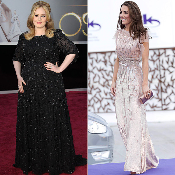 Will Kate Middleton favourite Jenny Packham be designing Adele's wedding dress?