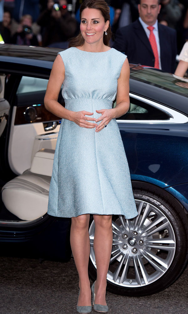 Kate Middleton stuns in Emilia Wickstead dress at The National Portrait Gallery
