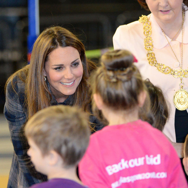 Kate Middleton wins more young fans in Glasgow