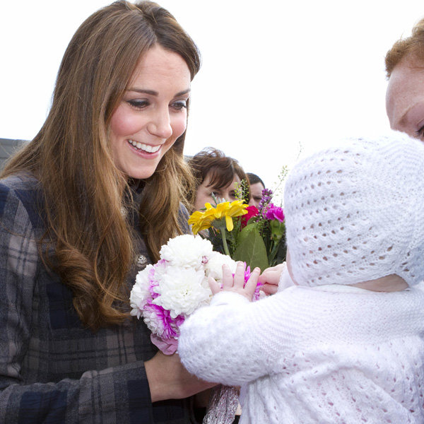 Kate Middleton and Prince William practice their parenting skills