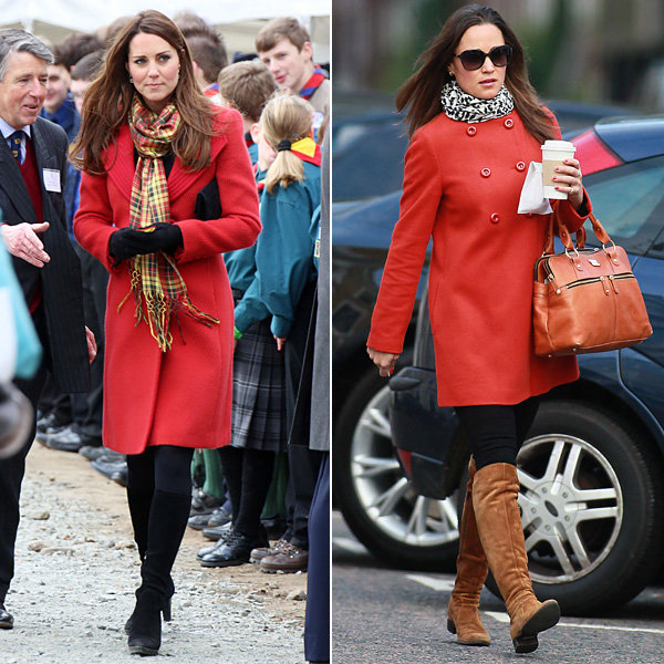 Kate Middleton style-snaps Pippa Middleton with Dumfries outfit