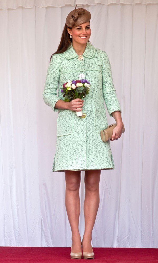 Kate Middleton's Mulberry coat already a sell-out!