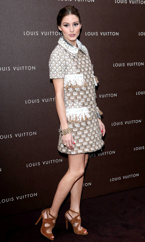 Olivia Palermo and Uma Thurman flock to Germany for Louis Vuitton store opening