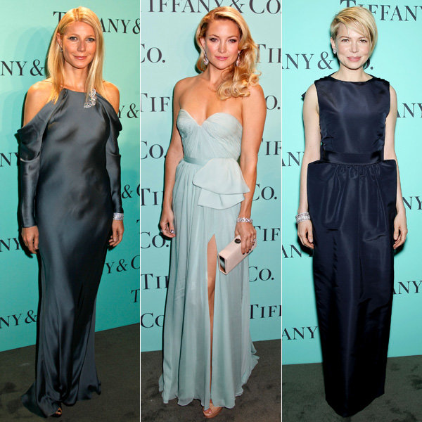 Kate Hudson, Gwyneth Paltrow and Michelle Williams go glam at Tiffany ball