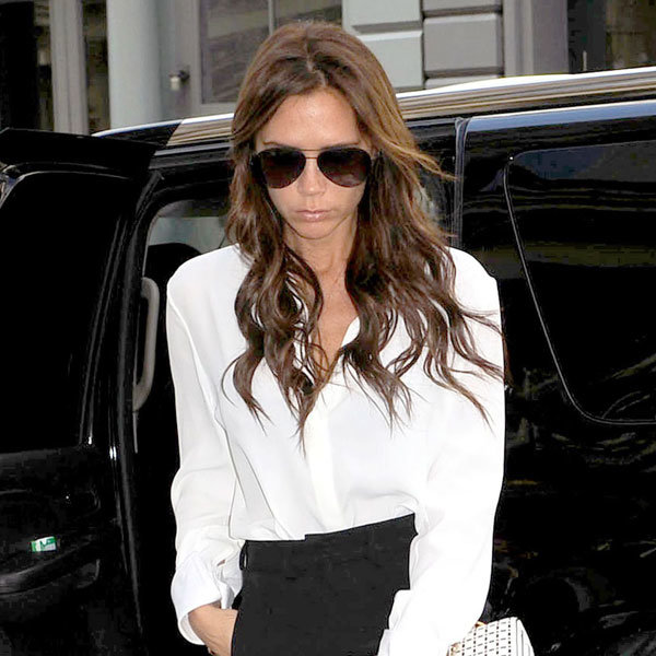 Victoria Beckham reveals her funky side with her song of the day!