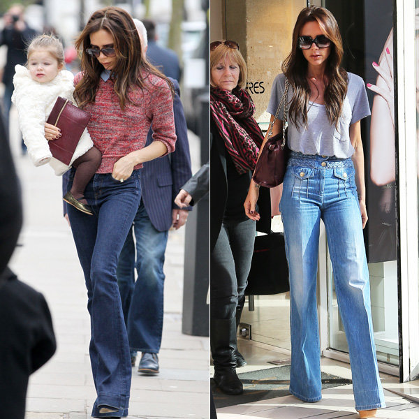 Victoria Beckham makes a fashion case for flares